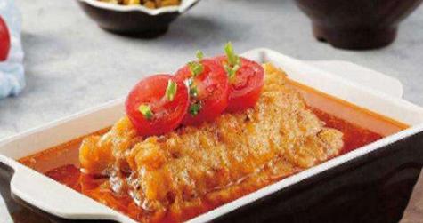 番茄无骨烤鱼